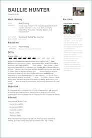 Army Resume Builder Fresh Examples For Students