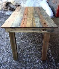 Pallet Kitchen Table Recycled Wood Furniture Plans Ideas Dining