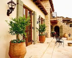 Mediterranean Tuscan Home House Exterior
