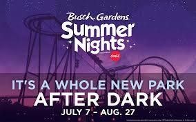 Busch Gardens Summer Fun Card & Summer Nights Mom the Magnificent