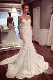 Mermaid Wedding Dress Trumpet Wedding Dress Lace Wedding Dress