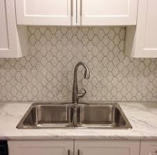 Awesome Glass Mosaic Tile Backsplash Home Design And Decor
