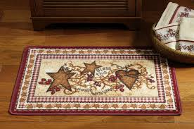 Entranching Stunning Country Kitchen Rugs Braided Primitive On