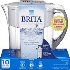 Brita Faucet Mounted Water Filters by Shop Brita 10 Cup Pitcher Complete Filtration System At Lowes Com