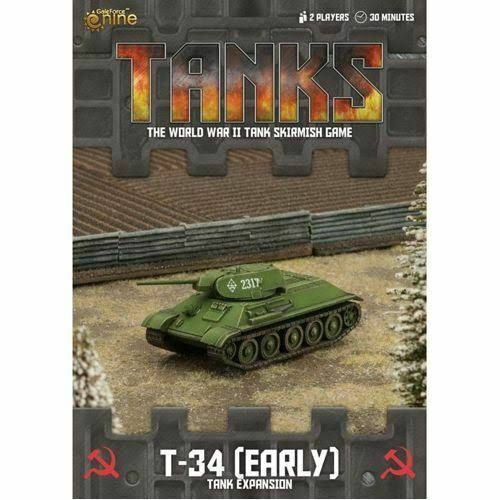 Tanks Soviet T34 Miniature War Games - 15mm