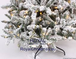 Ge Artificial Christmas Tree Assembly Instructions by Snow Artificial Christmas Tree Deluxe With Strong Warm Led Lights