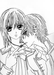 Vampire Knight Coloring Pages Get Coloring Pages