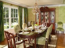 Exquisite Use Of Wallpaper In The Cozy Dining Room Design Rachel Bauer