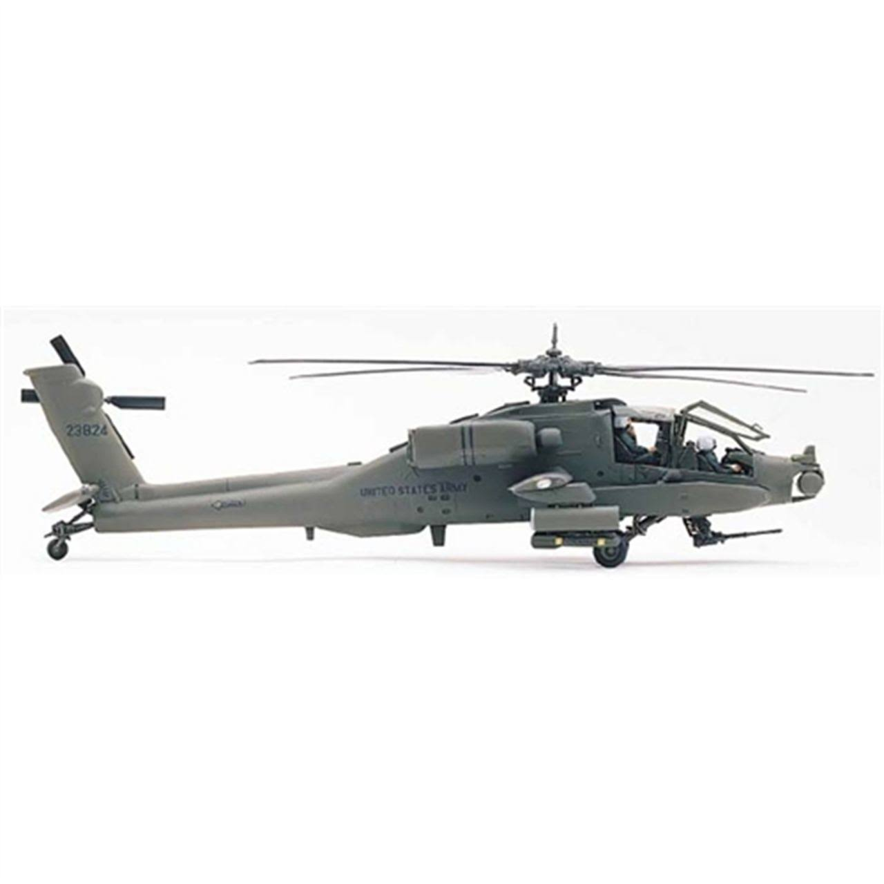 Revell Monogram AH-64 Apache Helicopter 1/48 Scale Plastic Model