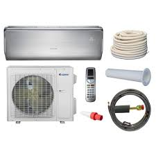Mini Split Ceiling Cassette Air Conditioner by Gree Crown 12 000 Btu 1 Ton Ductless Mini Split Air Conditioner