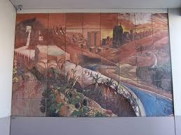 David Alfaro Siqueiros Mural Olvera Street by Union Station Walknridela