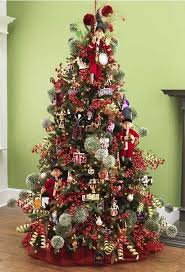 Raz 2013 Christmas Trees Classic Red Green With Elegant Elves Concept Of Tree Decorations Sale