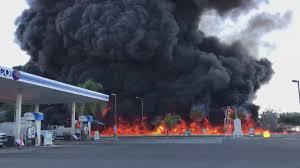 100 Truck Explosion 1 Killed In Fiery Tanker On Highway 99
