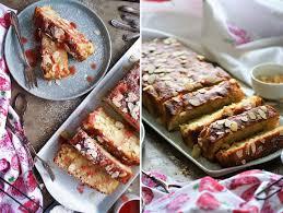 rhabarber apfel kuchen mit erdbeer rhabarber sauce papilio