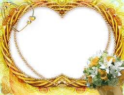 Yellow Flower Transparent Frame