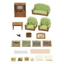 puppen sylvanian families luxus wohnzimmer neu ovp