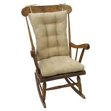 Gripper Jumbo Rocking Chair Cushion Set, Non-Slip, Nouveau
