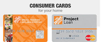 Home depot project financing Home box ideas