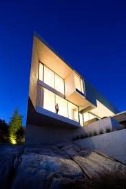 100 Mcleod Homes Bovell Nestles West Vancouver Home Into Steep Site