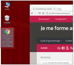 raccourci sur bureau créer un raccourci vers un site web sur le bureau de windows je me