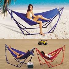 Portable hammock stand for your Trips