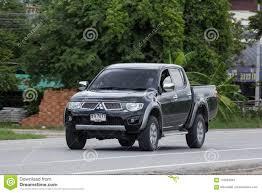 100 Mitsubishi Pickup Truck Private Car Triton Editorial Stock Image