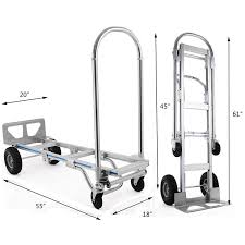 2in1 Heaty Duty Aluminum Hand Truck Cart Convertible Warehouse ... Super Brute 900 Lb Convertible Dual Purpose Hand Truck Blue Sydney Trolleys Folding Trucks Northern Tool Equipment The Top 5 Best In 2018 Reviews And Milwaukee 150 Vertical 300 Horizontal Capacity Steel Sco 3 In 1 Alinium Sack Parrs Workplace Cosco Shifter 2in1 Cart Harper Dtbk1935p Heavy Duty Ebay Alinum Mulposition Collapsible Magliner 3500 Truck30152