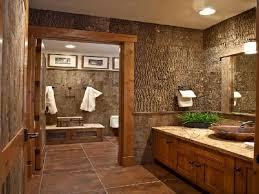 Small Rustic Bathroom Designs Pleasing Design