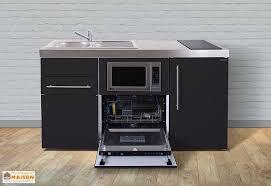 cuisine au micro ondes mini cuisine avec frigo l v micro ondes et induction mpgsm 160