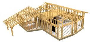 plan maison en bois gratuit plan maison bois en kit maison eco bois