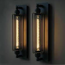 ecolight vintage country wall ls 1 light edison bulb e27 e26