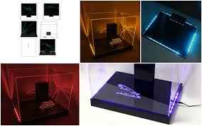 Acrylic LED Display Cases