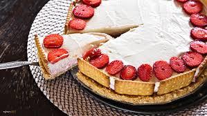 erdbeer kokos mascarpone torte eine schnelle torte ohne backen