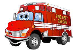 100 Black Fire Truck 19 Truck Drawing Cartoon HUGE FREEBIE Download For PowerPoint