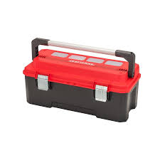 CRAFTSMAN PRO 26-in Red Plastic Lockable Tool Box At Lowes.com