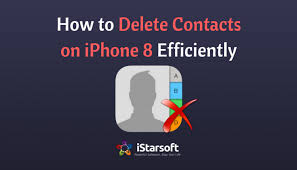 How to Delete Contacts on iPhone 8 in Three Different Ways