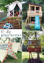 10 DIY Outdoor Playsets — Tag & Tibby 9 Free Wooden Swing Set Plans To Diy Today How Build A Tree Fort Howtos Best 25 Backyard Fort Ideas On Pinterest Diy Tree House 12 Playhouse The Kids Will Love Gemini Wood Swingset Jacks The Knight Life Custom And Playset Designs From Style Play House Addition 2015 Backyard Swing Bridge Ladder Gate Roof Finale Forts Unique Set