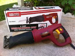 Harbor Freight Electric Tile Cutter by Chicago Electric Rotating Handle Reciprocating Saw Review