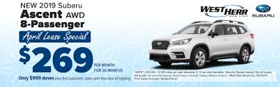 100 West Herr Used Trucks Buffalo Subaru Dealership New Subaru Vehicles In Orchard Park