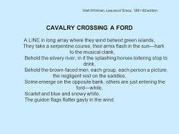 Walt Whitman The Wound Dresser Analysis by Walt Whitman U0027s Civil War Poetry Ppt Video Online Download