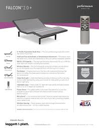 Leggett And Platt Headboard Instructions by Amazon Com Adjustables By Leggett U0026 Platt Falcon Adjustable Bed