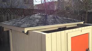 Rubbermaid Slide Lid Shed Manual by First Automatic Sliding Roof Test Outside View Youtube