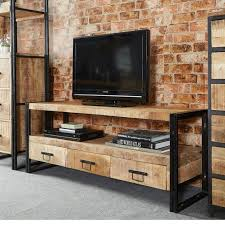 Industrial Style Tv Cabinet Incredible 72 Best Extension GJ Images On Pinterest Furniture Iron And Wood
