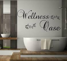 wandtattoo wellness oase badezimmer wand