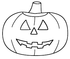 Halloween Coloring Pages For Kids Pumpkin