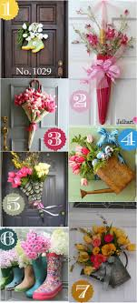 Spring Door Decor Ideas