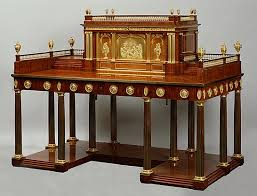 bureau à gradin david roentgen 1743 1807 très important bureau à gradin en