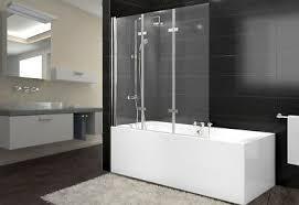 nano glas duschabtrennung xl badewanne faltwand duschwand