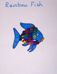 March Is National Reading Month To Celebrate Were Making These Bright And Shiny Rainbow Fish Go Along With One Of Our Favorite Books An Easy Crafts