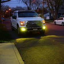 2x gold yellow 80w 9005 9006 h10 cree led bulb for ford f150 fog